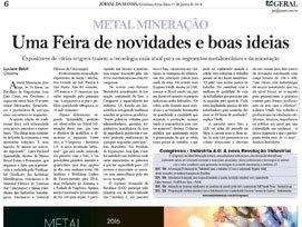 Jornal Metal Mineração