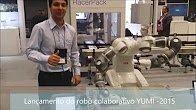 Lançamento robô colaborativo YUMI 2015