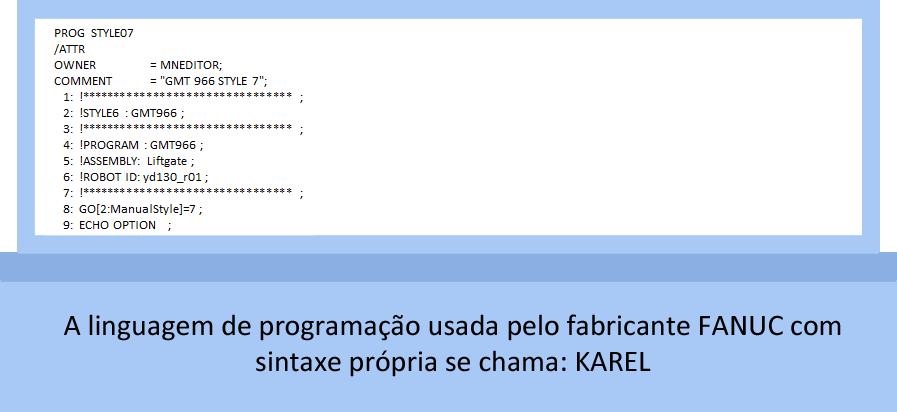 PROGRAMAÇÃO DE ROBÔ