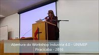 Abertura Workshop industria 4 0 UNIMEP 2016