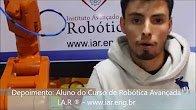 Depoimento: Aluno do Curso de Robótica Avançada