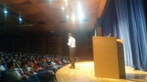 Aula Magna na Universidade Positivo em Curitiba