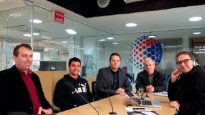 Entrevista na Rádio Local da Cidade de Criciúma SC