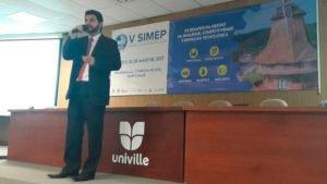 V Simep Universidade Univille Joinville
